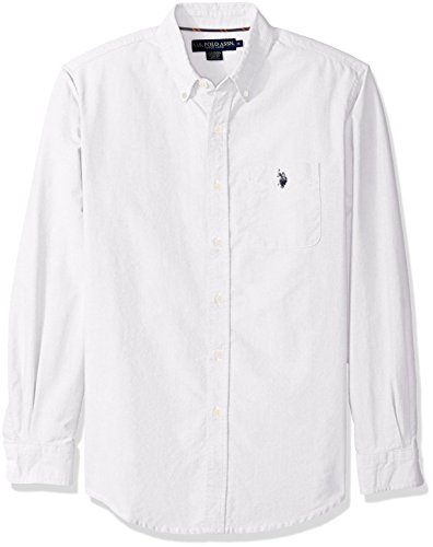U.S. Polo Assn. Men's Classic Fit Solid Oxford Cloth Button Down Sport Shirt