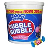 Dubble Bubble Tub Original Flavor 380 Ct