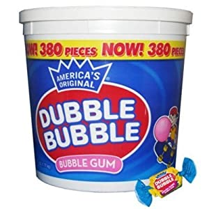 Dubble Bubble Tub, Original Flavor, 380-Count