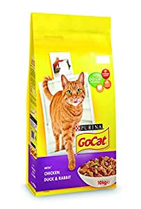 Go-Cat Adult Chicken, Duck and Rabbit Dry Cat Food, 10kg