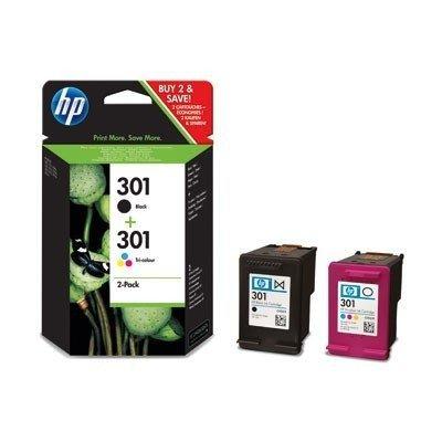 2 HP Deskjet 2050 Original Printer Ink Cartridges - Black+Tri-Colour