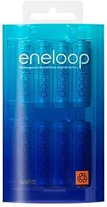 SANYO eneloop ニッケル水素電池 単3形 8本パック HR-3UTG-8BP