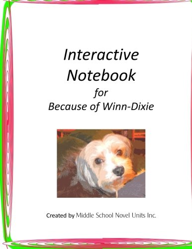 interactive-notebook-for-because-of-winn-dixie