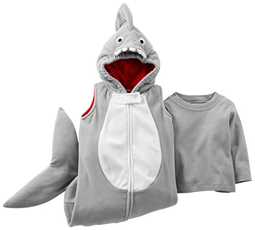 Carter's Baby Boys' Fleece Halloween Costume (6 Months, Shark)