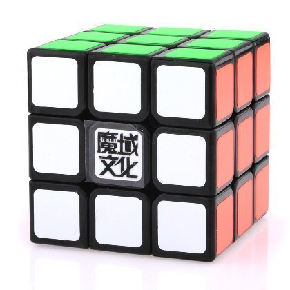 3x3x3 YJ Moyu Weilong Plus 54.5mm Black Version 2 Speed Cube Puzzle New V2 3x3 - 1