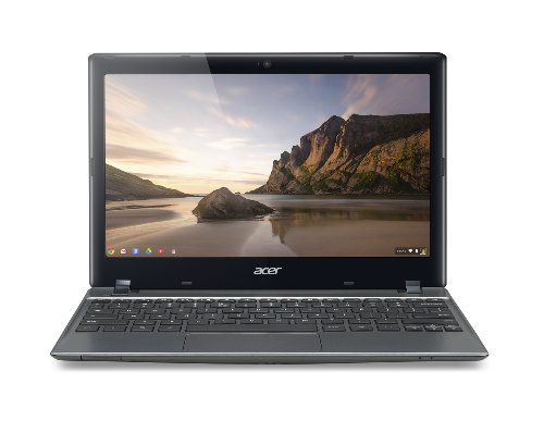 Acer C710-2833 11.6-Inch Chromebook – Iron Gray (16GB SSD)