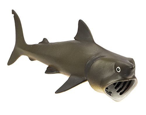 Safari Ltd Wild Safari Sea Life - Basking Shark - Educational Hand Painted Figurine - Quality Construction from Safe and BPA Free Materials - For Ages 3 and Up