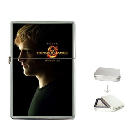 Peeta The Hunger Games Collection Flip Top Lighter Movie High Quality Great Gift for Dad Mom Man Woman