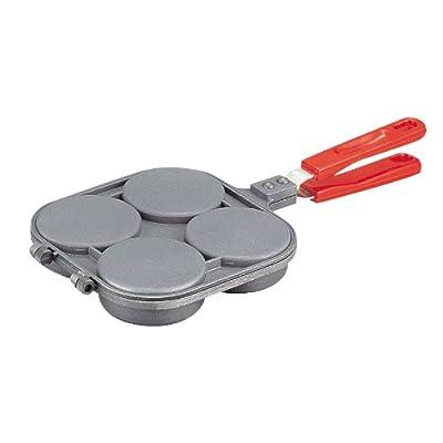 パール金属 ふっ素樹脂加工 おやつらんど 大判焼器 4穴 D-648