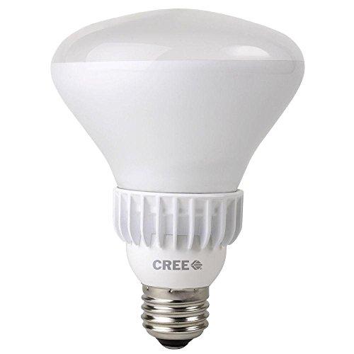 Cree Lighting Br30-65W-27K-T12 Led Light Bulb, Br30 E26 Base, 9.5W (65W Equivalent) - Dimmable - 2700K - 650 Lumens - (12 Pack)