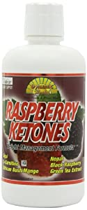 Dynamic Health Juice Blend Liquid Dietary Supplement Raspberry Ketones 32 Ounce by Dynamic Health