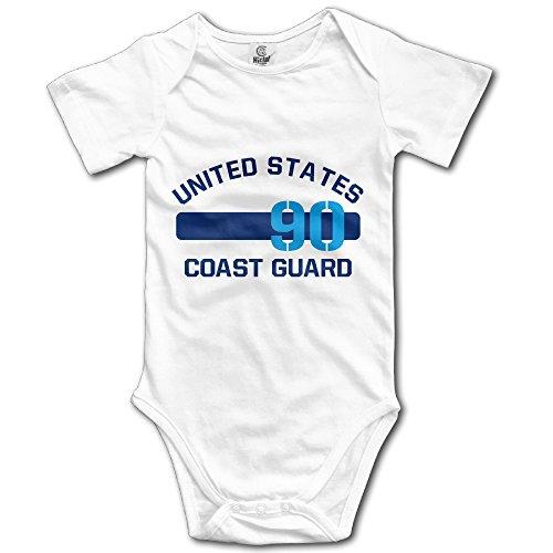 Short Sleeve Baby Costume United States Coast Guard Unisex