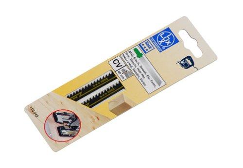 LUX 113042 Stichsägeblatt fein, gefräst, Bosch Aufnahme Bosch Zahnteilung 3 mm BASIC