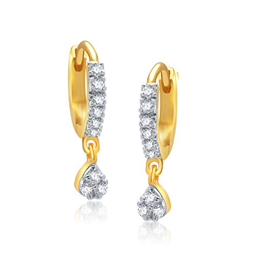 V-K-Jewels-Gold-And-Rhodium-Plated-Tear-Drop-Bali-For-Girls-Bali1002G-Vkbali1002G