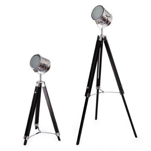 Elegante Stehleuchte Stehlampe Lampe Studio Film-Scheinwerfer Leuchte Standleuchte Studioleuchte