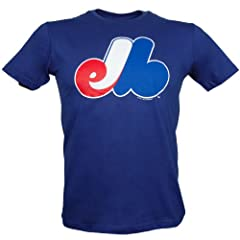Montreal Expos YOUTH Basic Logo T-Shirt by Bulletin