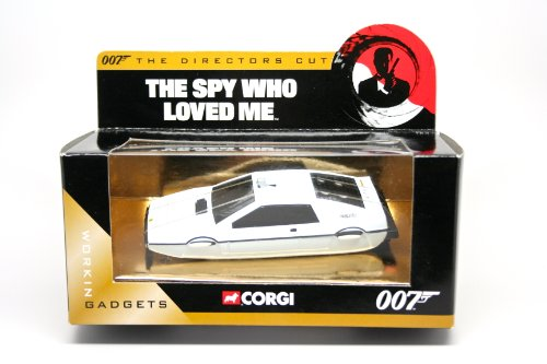 LOTUS ESPRIT UNDERWATER * THE SPY WHO LOVED ME * 2004 Corgi Classics The Directors Cut Definitive James Bond Collection 1:36 Scale Die-Cast Vehicle