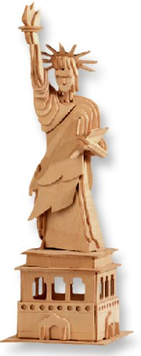 3-D Wooden Puzzle - The Statue Of Liberty -Affordable Gift for your Little One Item DCHI-WPZ-P031