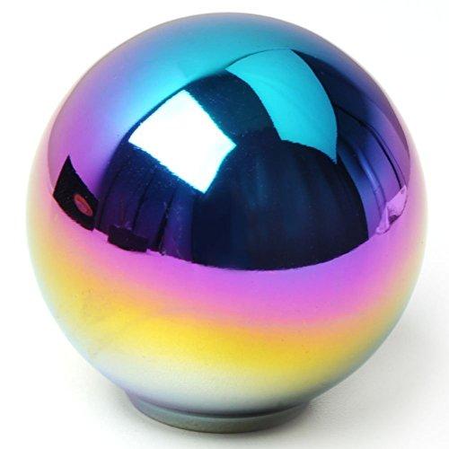 Jackey AwesomeScrew Round Chrome Finish Aluminum Manual Transmission Stick Shift Knob Fit (Chrome Ball Shift Knob compare prices)