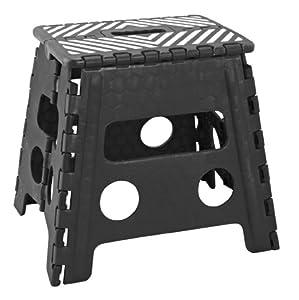 Amazon Com Simplify 13 Inch Folding Step Stool Black