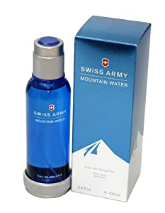 Swiss Army Mountain Water by Swiss Army, 3.4 Ounce 100ml EDT Spray