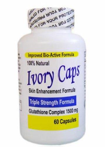 Ivory Caps -Maximum Potency Glutathione 1500