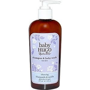 Amazon.com : Hugo Naturals Chamomile & Vanilla Shampoo & Baby Wash, 8...