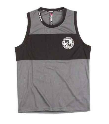 Metal Mulisha - Mens Crime Tank Top, Size: XX-Large, Color: Charcoal