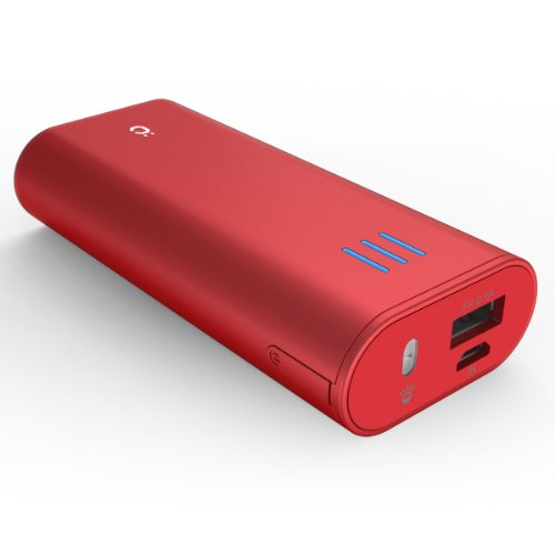 cheero Power Plus 2 mini 6000mAh (レッド)