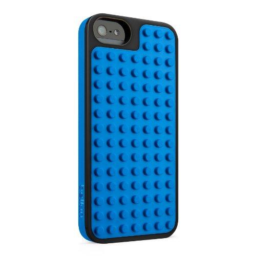Lego Bastel-Schutzhülle  geeignet für Apple iPhone 5  schwarz blau