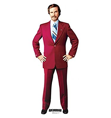 Anchorman - Advanced Graphics Life Size Cardboard Standup