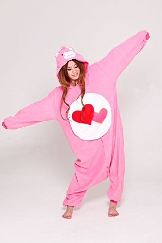 Care Bears Adult Unisex Animal Kigurumi Cosplay Costume Pajamas Onesies