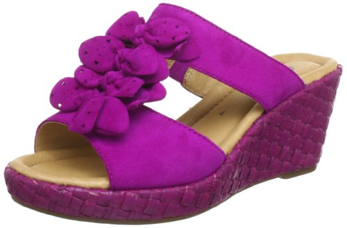 Gabor Shoes Gabor Clogs And Mules Womens Pink Pink (fuxia) Size: 40.5