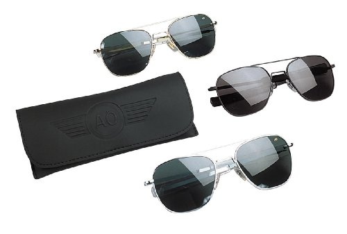 "GENUINE GOVERNMENT AIR FORCE PILOTS SUNGLASSES BY ""AMERICAN OPTICS"""
