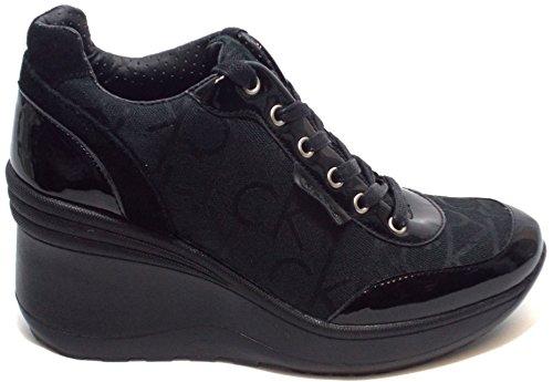 Calvin Klein Jeans RE9236 Sneakers Scarpe Donna Casual Sportive Zeppa