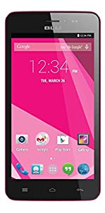 BLU Studio 5.0Ce 1.3GHz Dual Core, Android 4.4 KK, 3.2MP + VGA Camera - Unlocked (Pink)