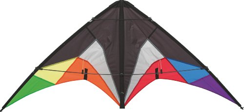 HQ Beach and Fun Sport Kite (Quickstep II Black Rainbow)