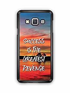 YuBingo Success is the Greatest Revenge Designer Mobile Case Back Cover for Samsung Galaxy A3