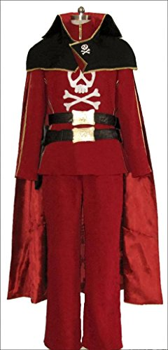 Custom-made cosplay costume for Space Pirate Captain harlock