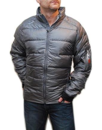 Buy Ralph Lauren RLX Mens Puffer Polo Warm Down Ski Snow Jacket Coat Silver Gray XL by RALPH LAUREN