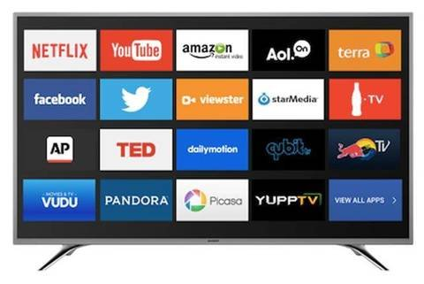 SHARP 40inch Full 1080p Backlight LED Built-in Wi-Fi Smart HDTV (Sharp 40 Inch Led compare prices)