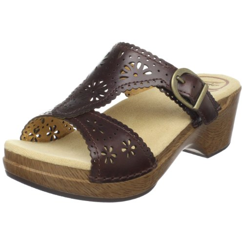 Dansko Women's Sapphire Sandal,Chocolate,38 EU / 7.5-8 B(M) US