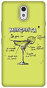 The Racoon Lean Lime Margarita hard plastic printed back case / cover for Lenovo Vibe P1M
