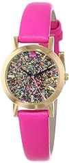kate spade new york Womens 1YRU0269 Glitter Dial Metro Mini Watch