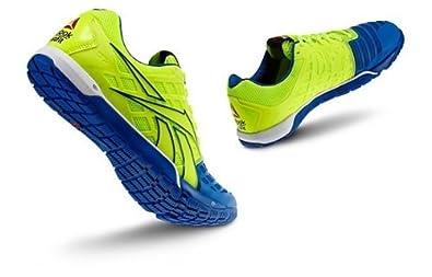 Reebok - Mens R Crossfit Nano 3 0 Yellow Blue White Bl Lowtop Shoes, Size: 11 D(M) US, Color: Neonyellow Trustblue White Black Excelle