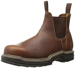 Wolverine Men\'s Raider Romeo ST EH Work Boot, Brown, 10.5 M US