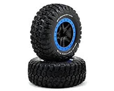 Traxxas 5883A Tire and Wheel, Split Spoke, BF Goodrich Mud Terrain