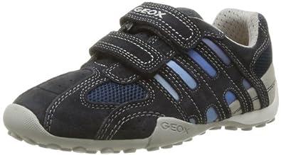 Geox JR SNAKE BOY B J42G7B01422C0693 Jungen Sneaker, Blau (NAVY/LT BLUE C0693), EU 25