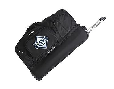 MLB Drop Bottom Rolling Duffel Luggage