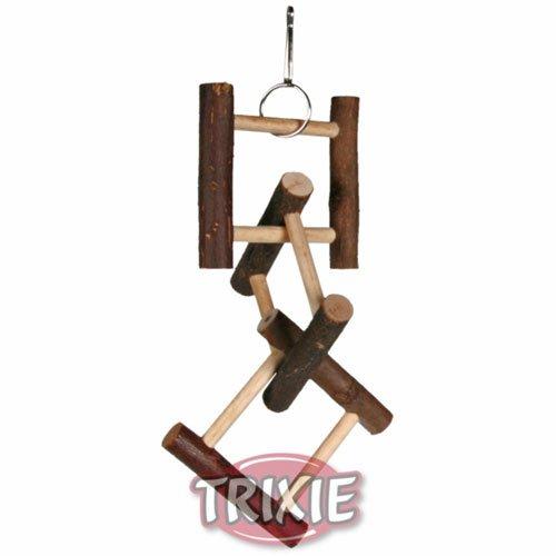 Trixie Hängeleiter aus Naturholz, Leiter für